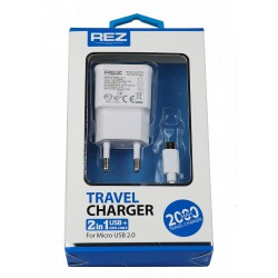 Rez Cell Phone Charger White