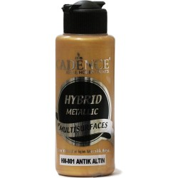 Cadence Metallic Paint for All Surfaces HM-801 Antique Gold