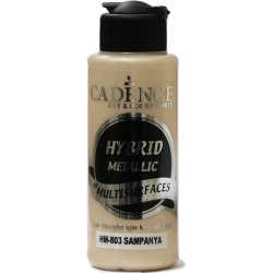 Cadence Metallic Paint for All Surfaces HM-803 Champagne