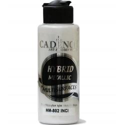 Cadence Tüm Yüzeyler İçin Metalik Boya HM-802 İnci