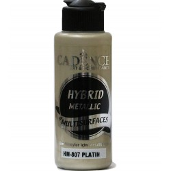 Cadence Metallic Paint for All Surfaces HM-807 Platinium 120ml
