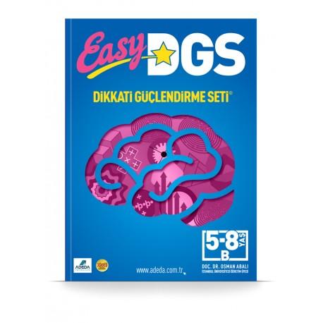 Easy DGS Dikkat Güçlendirme Seti 4-7 Yaş B