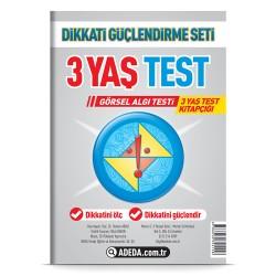Görsel Algı Testi 3 Yaş Test Kitapçığı
