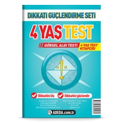 Visual Perception Test 4 Age Test Booklet