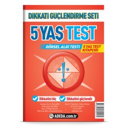 Visual Perception Test 5 Age Test Booklet