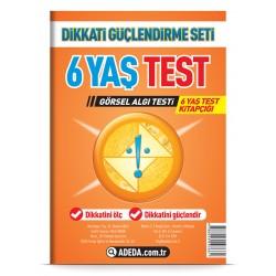 Görsel Algı Testi 6 Yaş Test Kitapçığı