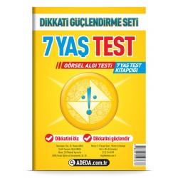Görsel Algı Testi 7 Yaş Test Kitapçığı