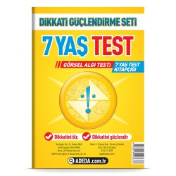 Visual Perception Test 7 Age Test Booklet