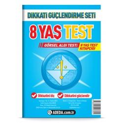 Görsel Algı Testi 8 Yaş Test Kitapçığı