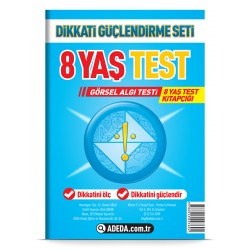 Visual Perception Test 8 Age Test Booklet