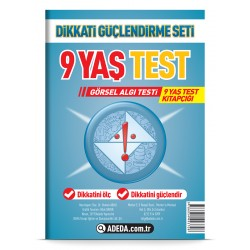 Visual Perception Test 9 Age Test Booklet
