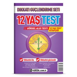 Visual Perception Test 12 Age Test Booklet