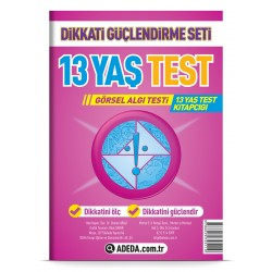 Görsel Algı Testi 13 Yaş Test Kitapçığı