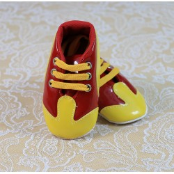 GS Galatasaraylı Leather Baby Bootie