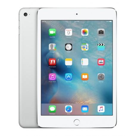 Apple iPad Mini 4 Wi-Fi + Cellular 128GB - Silver Color