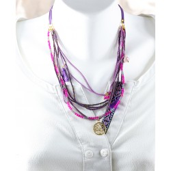 Life Tree Purple Necklace