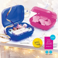 Tupperware İstiridye 2'li Kare Set