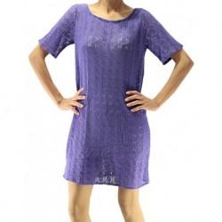 Jimmy Key Purple Tricot Dress