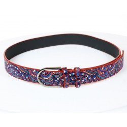 Blue Color Ethnic Belt
