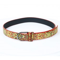 Yellow Colored Ethnic Belt