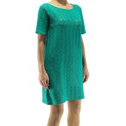 Jimmy Key Green Tricot Dress