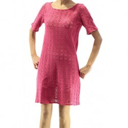 Jimmy Key Pink Tricot Dress