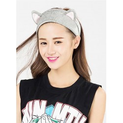 Cat Hairy Gray Hair Band