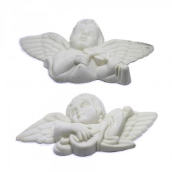 Double Musician Angel Model Polyester Object