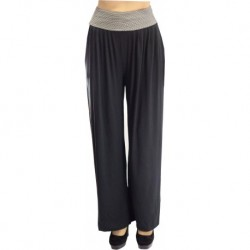Jimmy Key Black Combed Cotton Trousers