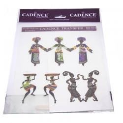 Cadence Ethnic Africa Patterned Transfer R-024