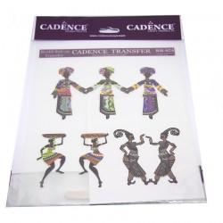 Cadence Etnik Afrika Desenli Transfer R-024