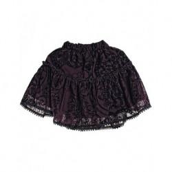 Zara Kids Burgundy Textured Schild Skit