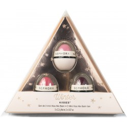 Sephora Winter Kisses 3 Mini Kiss Me Balım Set