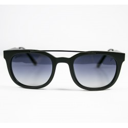Ellesse Bone Framed Black Metal Arched Sunglasses
