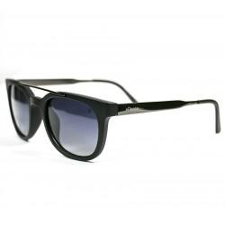 Ellesse Bone Framed Black Metal Arched Sunglasses