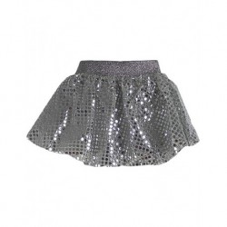 Zara Kids Silver Sequins Child Skirt
