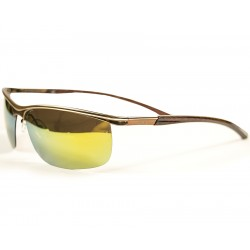 Ellesse Sport Model Sarı Metal Aynalı Cam Güneş Gözlüğü