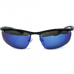 Ellesse Sport Model Metal Framed Blue Mirror Glass Screwed Sunglasses