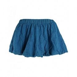 Zara Kids Mavi Dantelli Balon Çocuk Eteği