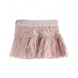 Zara Kids powder color lace skirt Children