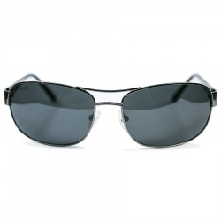 Ellesse Classic Model Metal Framed Black Glass Sunglass