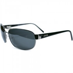 Ellesse Classic Model Metal Framed Black Glass Sunglass