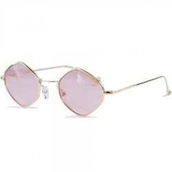 Image Vintage Retro Style Quadrangle Sunglasses