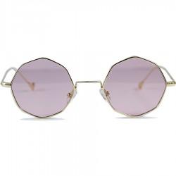 Image Vintage Retro Style Octagonal Sun Glasses