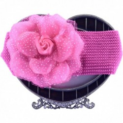Dark Pink Roses Hair Band