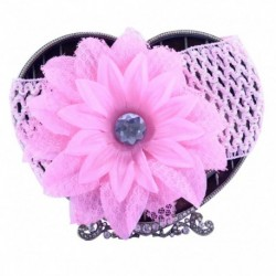 Pink Daisy Hair Band