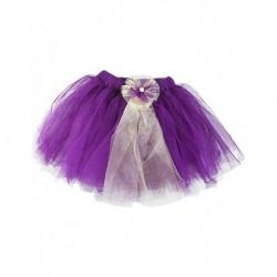Çiço Baby Tulle Skirt Purple Floral Gospel