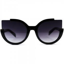 Steampunk Auto Model Black Degrade Glass Sunglasses
