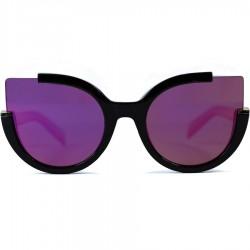 Steampunk Auto Model Solar Mirror with Pink Mirror Sunglasses