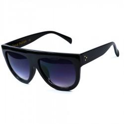Hand Polish Viktorya Model All Framed Black Sunglasses